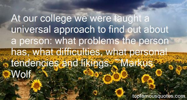 Markus Wolf Quotes