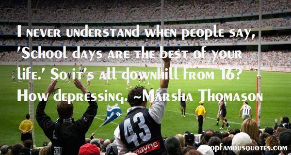Marsha Thomason Quotes