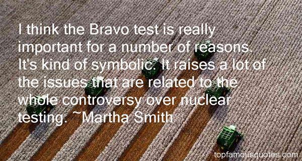Martha Smith Quotes