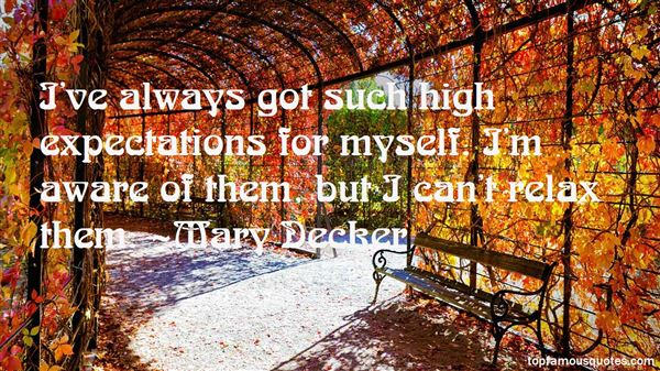 Mary Decker Quotes