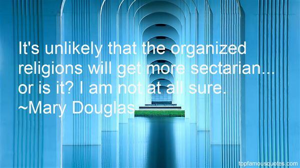 Mary Douglas Quotes