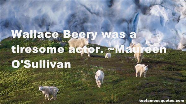 Maureen O'Sullivan Quotes