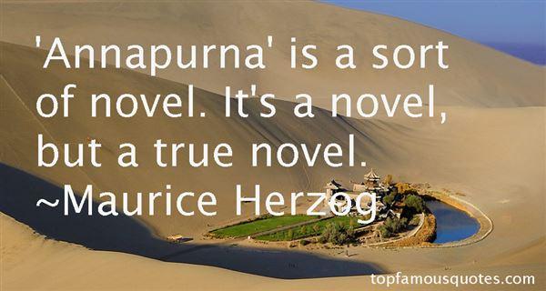 Maurice Herzog Quotes