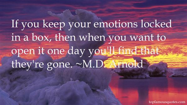 M.D. Arnold Quotes