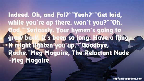 Meg Maguire Quotes