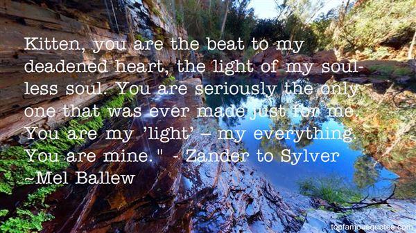 Mel Ballew Quotes