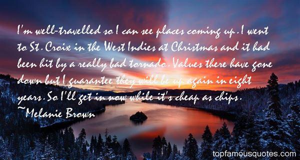 Melanie Brown Quotes