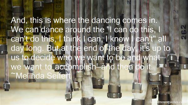 Melinda Seifert Quotes