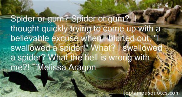 Melissa Aragon Quotes