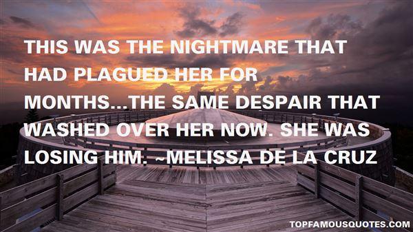 Melissa De La Cruz Quotes