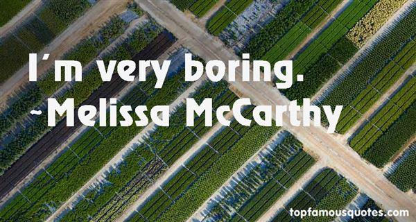 Melissa McCarthy Quotes