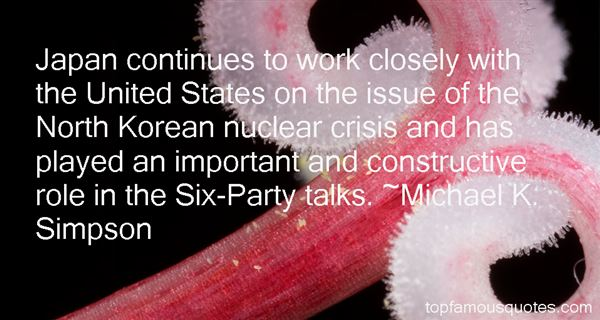 Michael K. Simpson Quotes