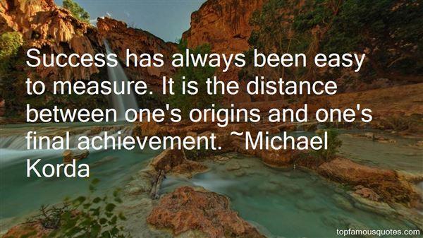 Michael Korda Quotes