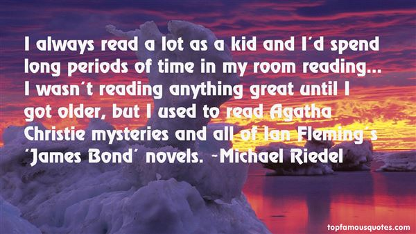Michael Riedel Quotes