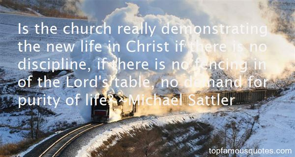 Michael Sattler Quotes