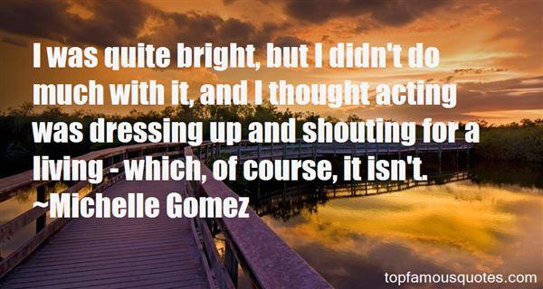Michelle Gomez Quotes