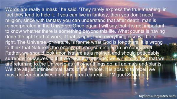 Miguel Serrano Quotes