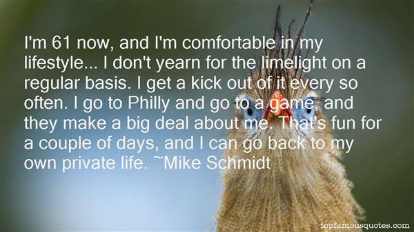 Mike Schmidt Quotes