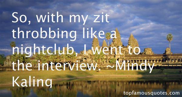 Mindy Kaling Quotes