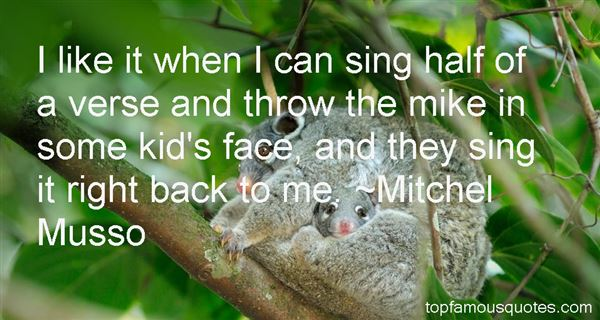 Mitchel Musso Quotes