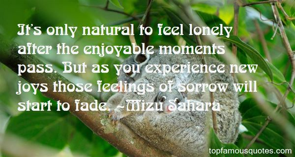Mizu Sahara Quotes