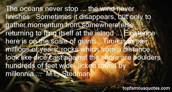 M.L. Stedman Quotes