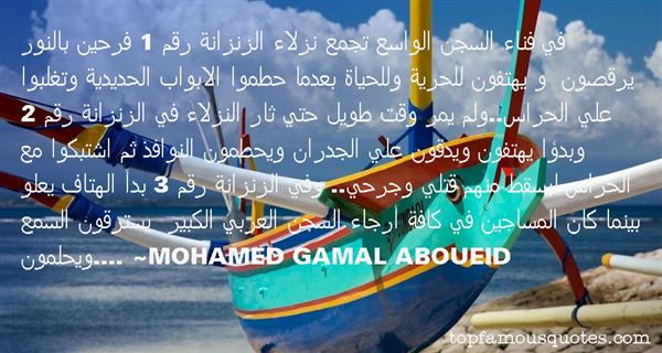 Mohamed Gamal Aboueid Quotes