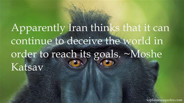 Moshe Katsav Quotes