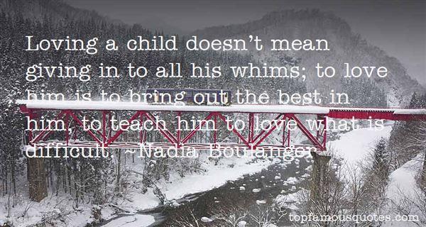 Nadia Boulanger Quotes