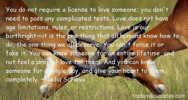 Nadia Scrieva Quotes