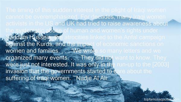 Nadje Al Ali Quotes