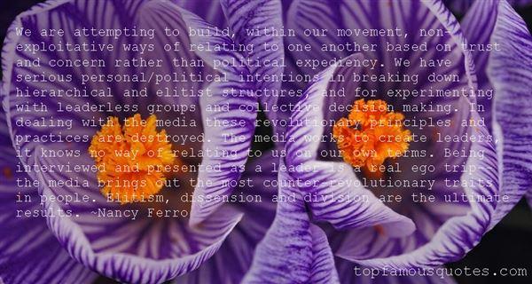 Nancy Ferro Quotes
