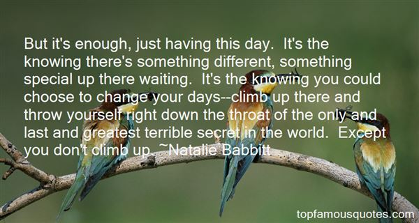 Natalie Babbitt Quotes