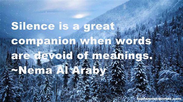 Nema Al Araby Quotes