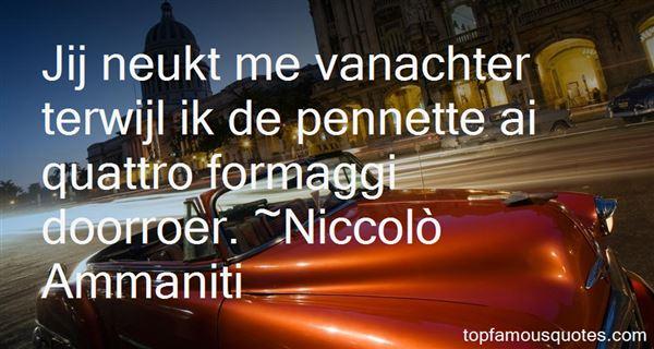 Niccolò Ammaniti Quotes