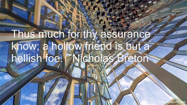 Nicholas Breton Quotes