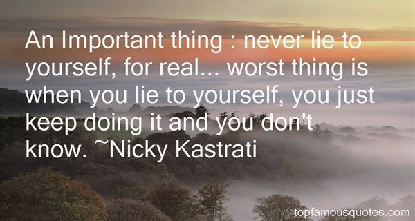 Nicky Kastrati Quotes