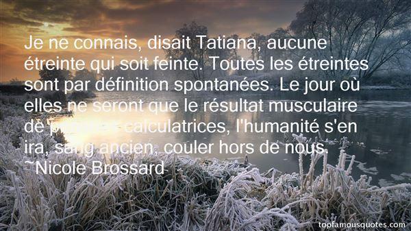 Nicole Brossard Quotes