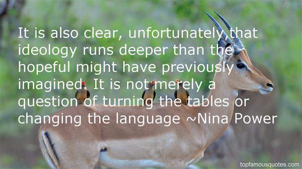Nina Power Quotes