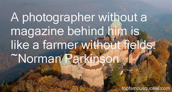 Norman Parkinson Quotes