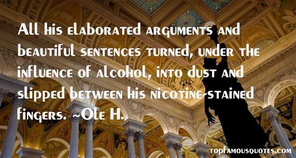 Ole H. Quotes