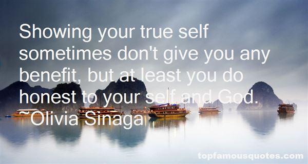 Olivia Sinaga Quotes