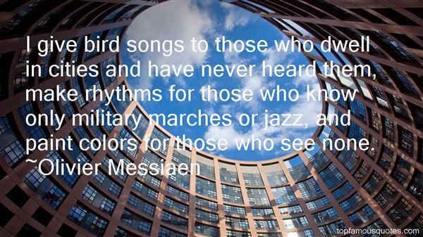 Olivier Messiaen Quotes