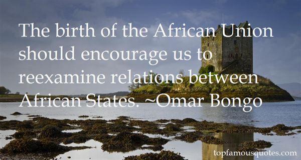 Omar Bongo Quotes