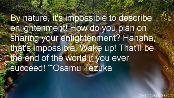 Osamu Tezuka Quotes