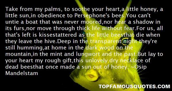 Osip Mandelstam Quotes