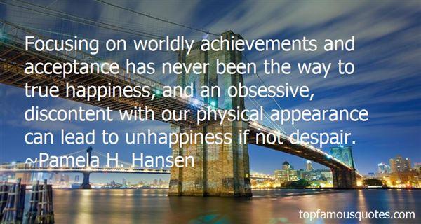 Pamela H. Hansen Quotes