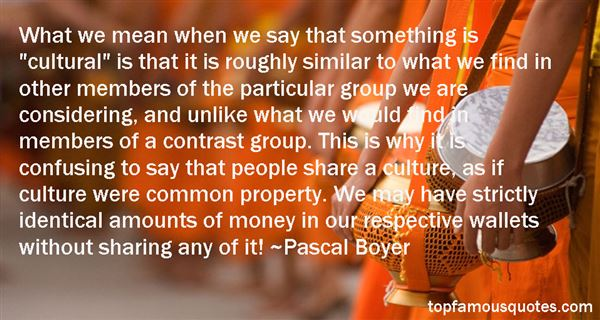 Pascal Boyer Quotes