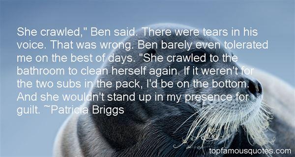 Patricia Briggs Quotes
