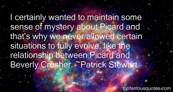 Patrick Stewart Quotes